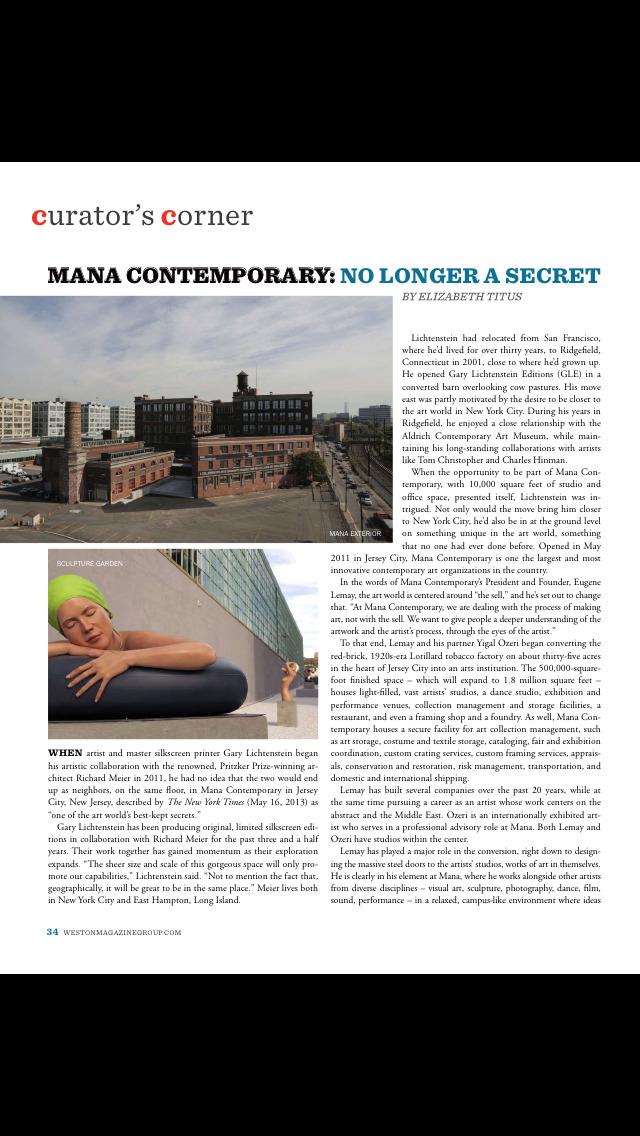 SohoNYC Magazine screenshot 2