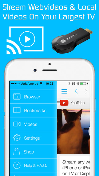 stream iphone to tv amp tv cast for chromecast best browser to cast and 4552