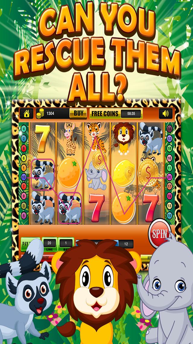 Ace Classic Vegas Baby Tiger Slots - Lucky Safari Gambling Casino Slot Machine Games Free screenshot 1