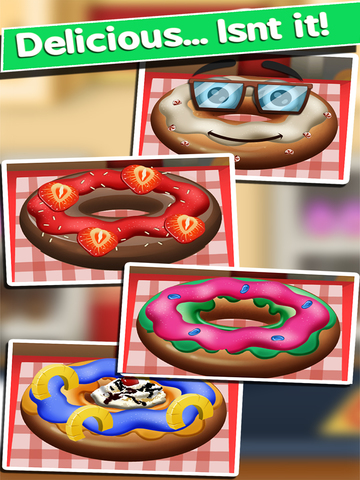 Awesome Donut Ice Cream Cake Breakfast Shop Maker screenshot 7