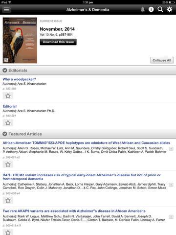 Alzheimer's & Dementia Journal screenshot 9