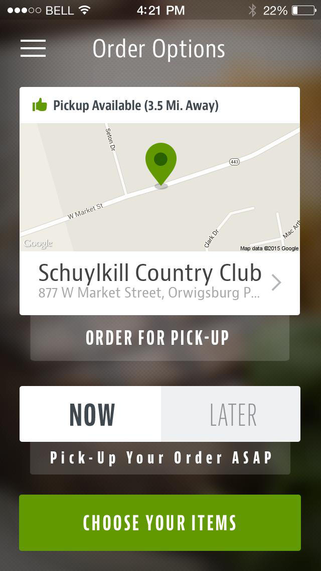 Schuylkill Country Club Dining screenshot 2