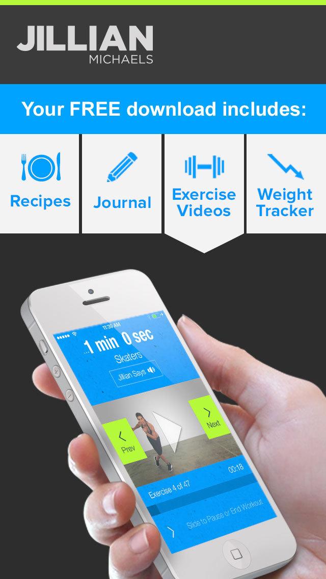 Jillian Michaels Slim-Down: Weight Loss, Diet, Fitness, Workout & Exercise Solution screenshot 4