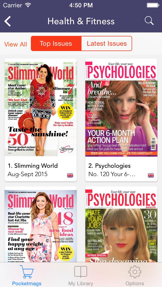 Pocketmags Digital Newsstand screenshot 2