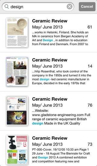 Ceramic Review screenshot 4