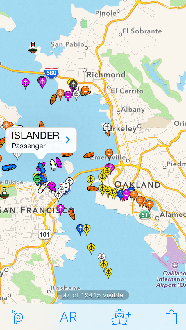 Ship Finder Lite screenshot 2