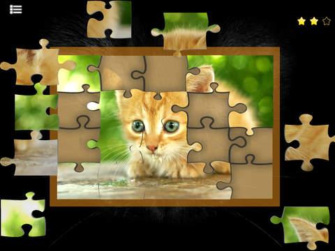 Kitty Cat Jigsaw Puzzles screenshot 2