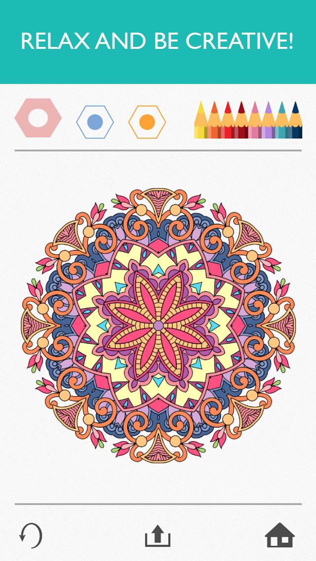 Colorfy: Coloring Art Game screenshot 1