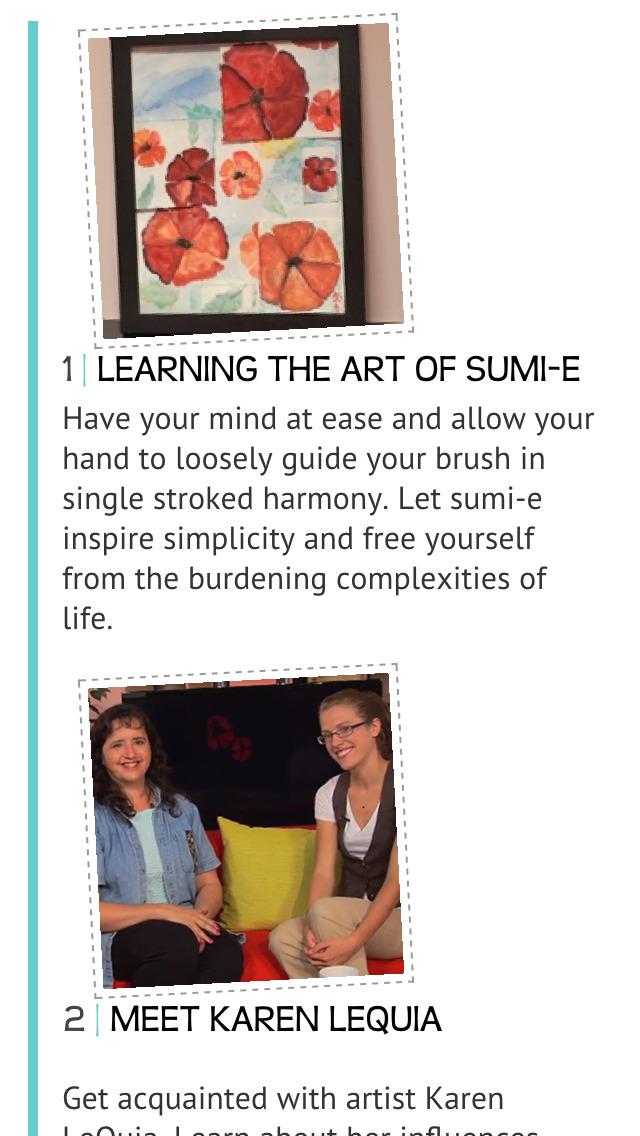 Learning the Art of Sumi-e screenshot 2