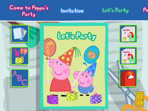 Peppa Pig's Party Time screenshot #2