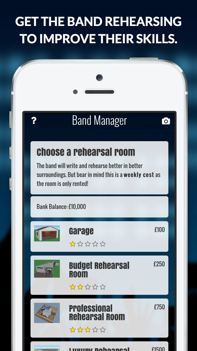 Superstar Band Manager screenshot #2