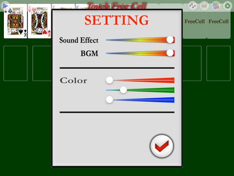 Touch FreeCell PVD screenshot 8