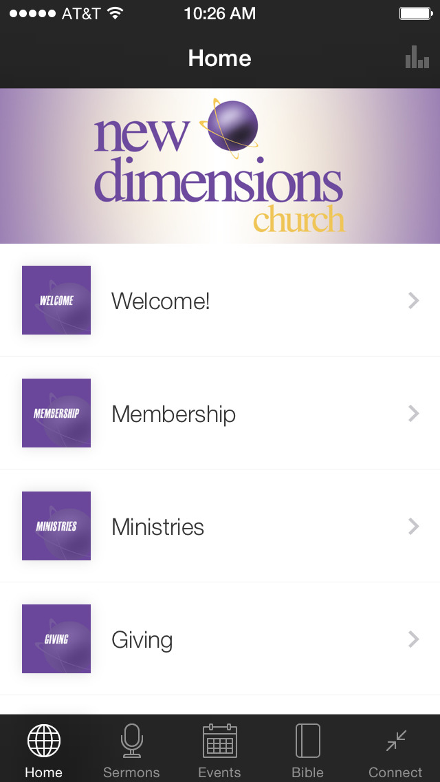 New Dimensions Church screenshot 1