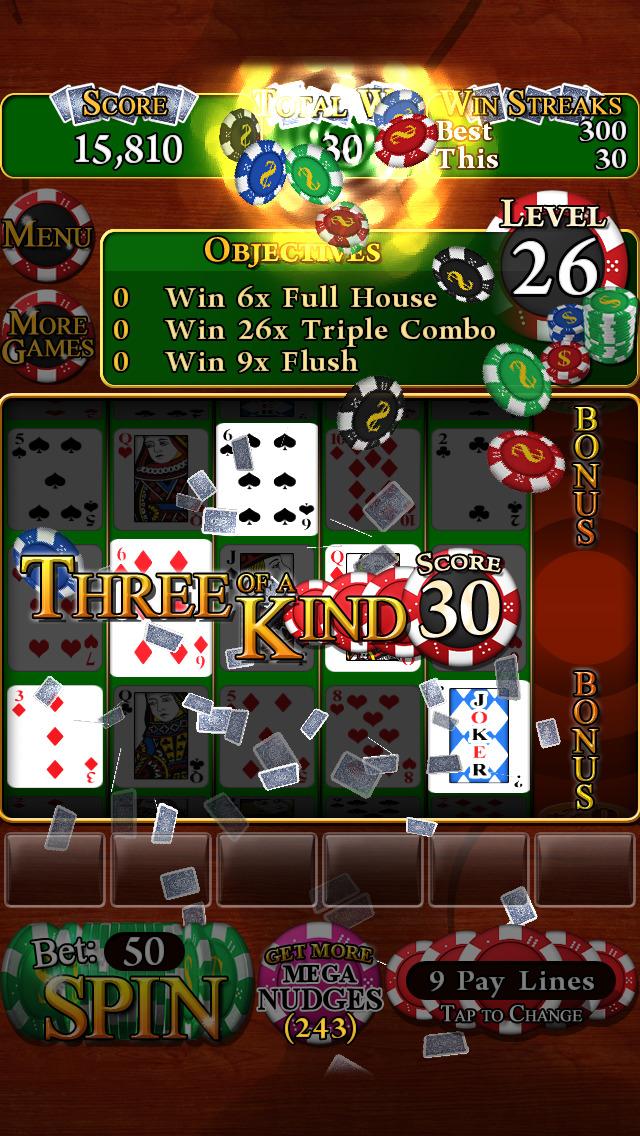 Poker Slots Deluxe screenshot #2