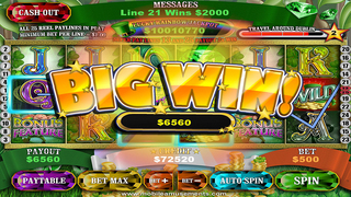 Crock O'Gold Slots 2 - Dublin Yer Cash FREE screenshot 4