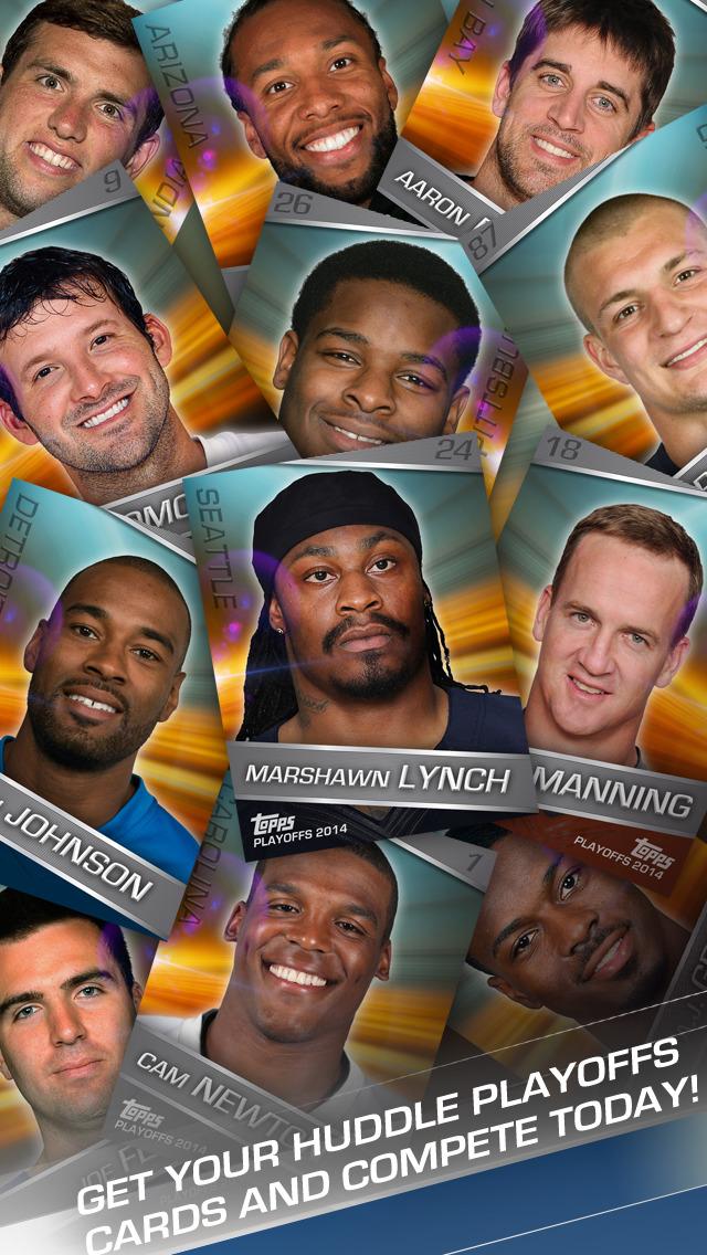 Topps NFL HUDDLE: Card Trader screenshot 2