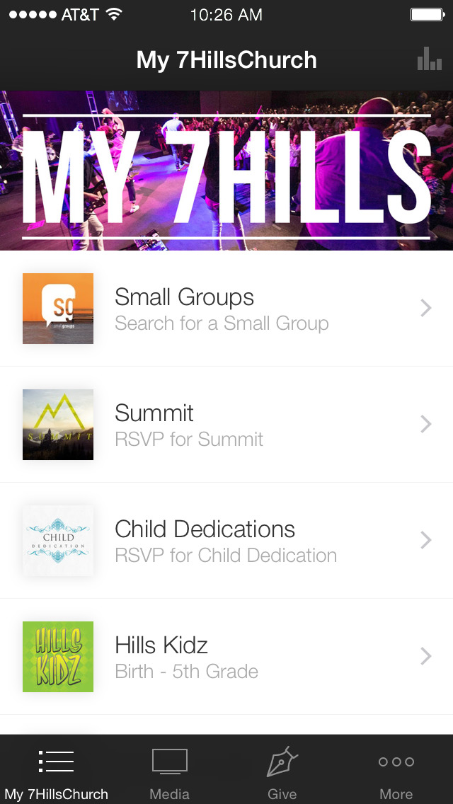 7 Hills Church screenshot 1