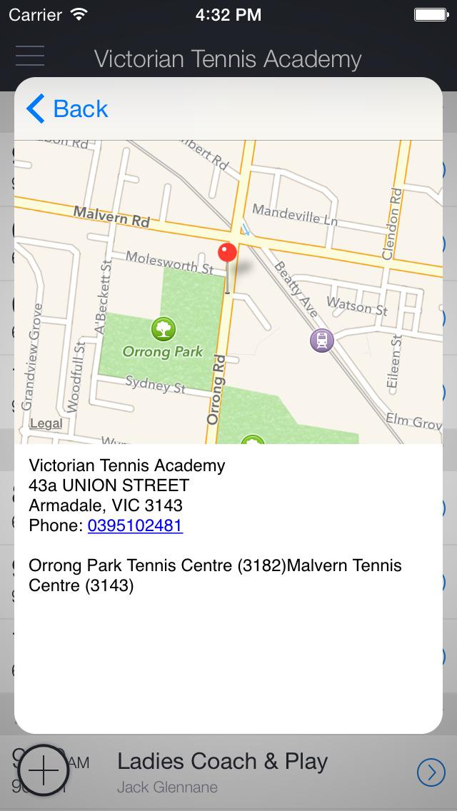 Victorian Tennis Academy screenshot 3