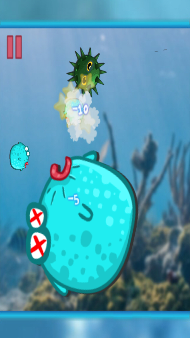 Fish Live - Cute Globefish Save Friends & The World! screenshot 3