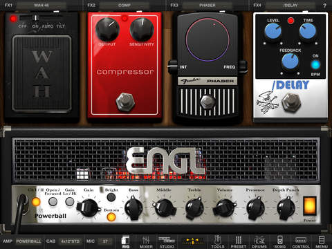 AmpliTube for iPad screenshot 5