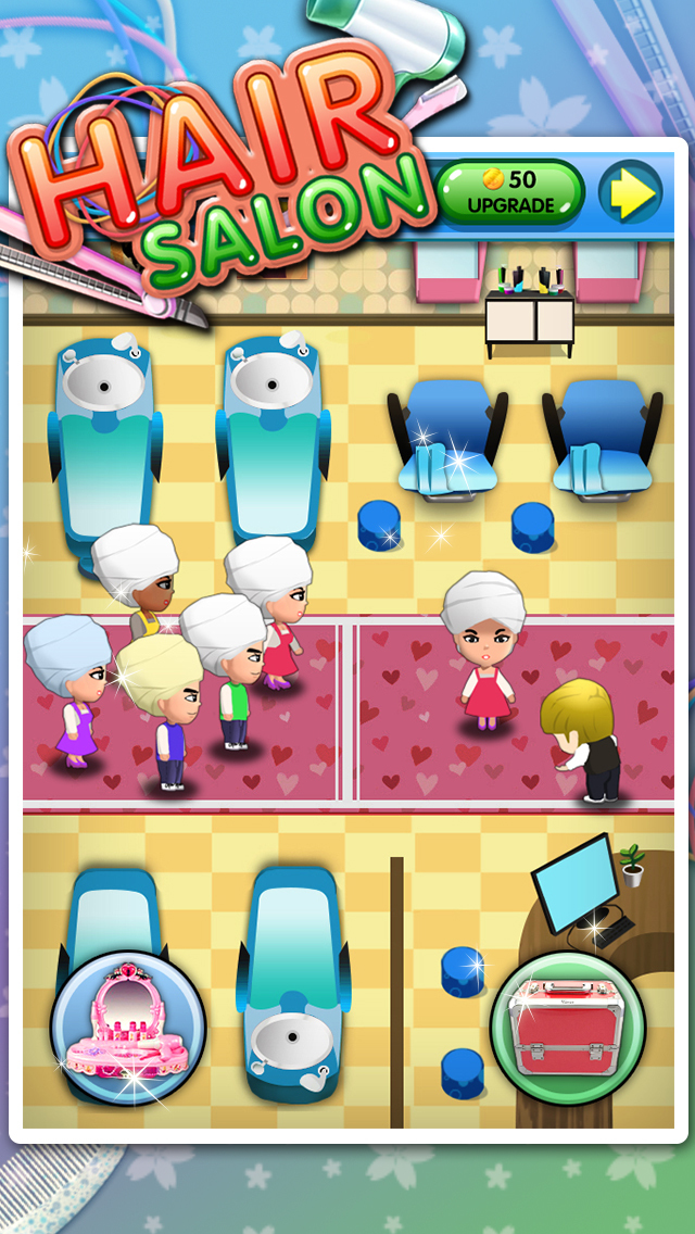 Hair Salon - Fun Kids games screenshot 1