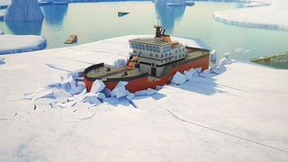 3D Icebreaker Parking - Arctic Boat Driving & Simulation Ship Racing Games screenshot 1