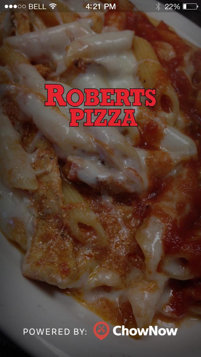 Robert's Pizzeria screenshot 1