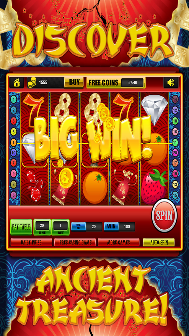 Ace Classic Slots China Dragon Dynasty - Gold Fortune Slot Machine Casino Games Free screenshot 4