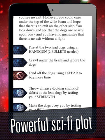 Heavy Metal Thunder - The Interactive SciFi Gamebook screenshot 8