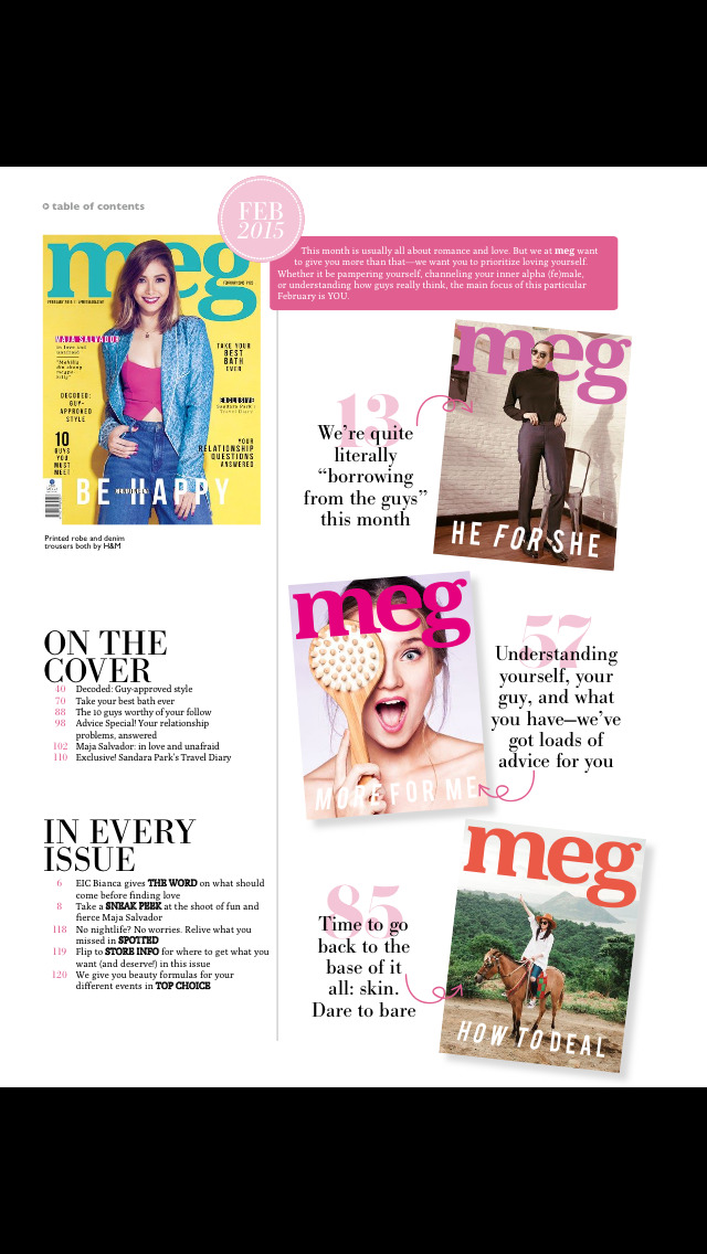 Meg Magazine screenshot 2