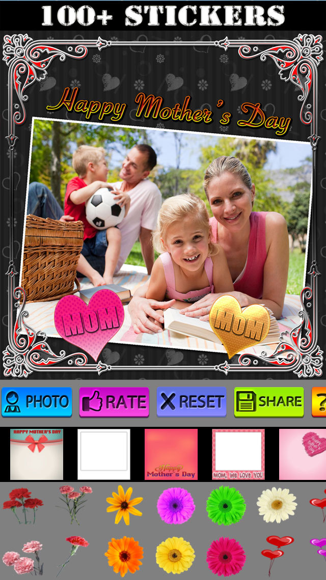 Mother's Day Frames and Labels screenshot 3