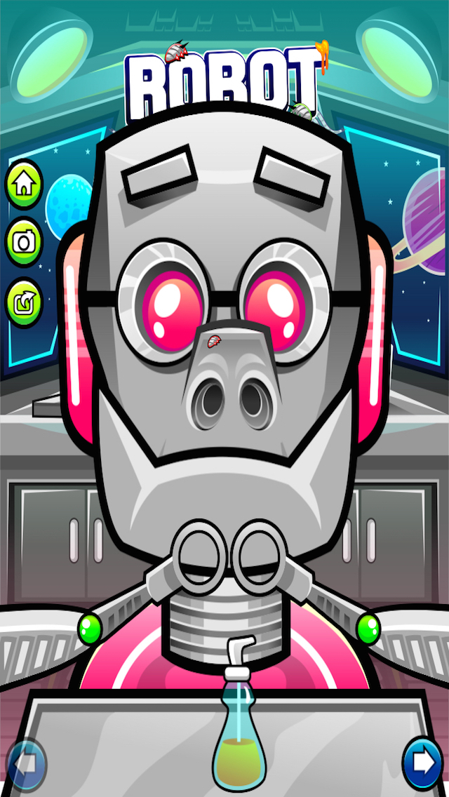 Robot Nose Cavity Repair screenshot 3
