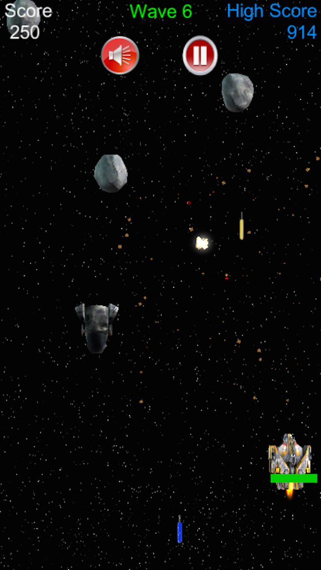 Arcade Space Shooter screenshot 1