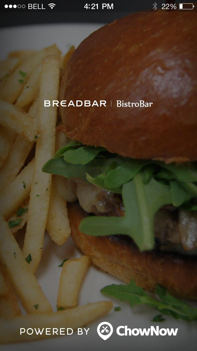 Breadbar screenshot 1