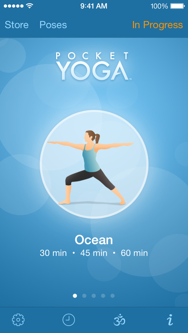 Pocket Yoga screenshot 1