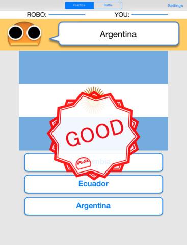Robo Flags for iPad screenshot 3