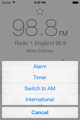 RadioApp - A simple radio for iPhone and iPod touc - náhled