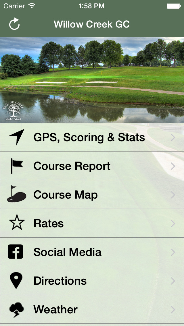 Willow Creek Golf Club screenshot 2