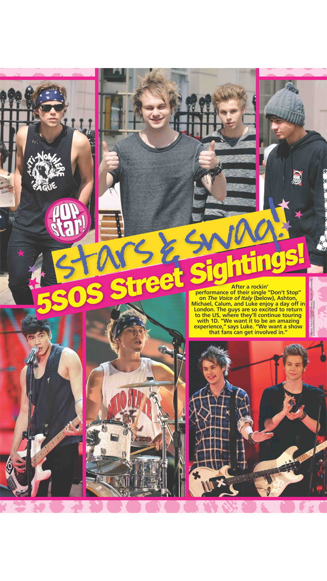 Popstar! Magazine screenshot 2