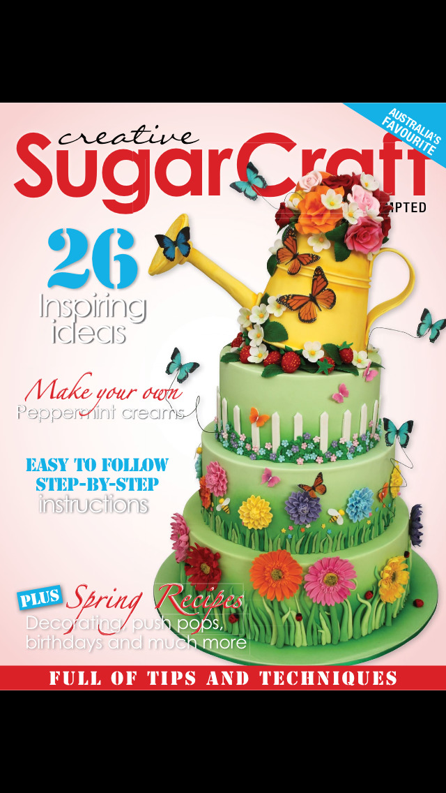 Creative Sugar Craft Magazine screenshot 1