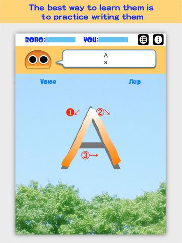 Writing Order Alphabet screenshot 7