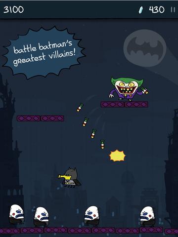Doodle Jump DC Super Heroes screenshot 9