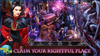Dark Realm: Queen of Flames - A Mystical Hidden Object Adventure screenshot 2