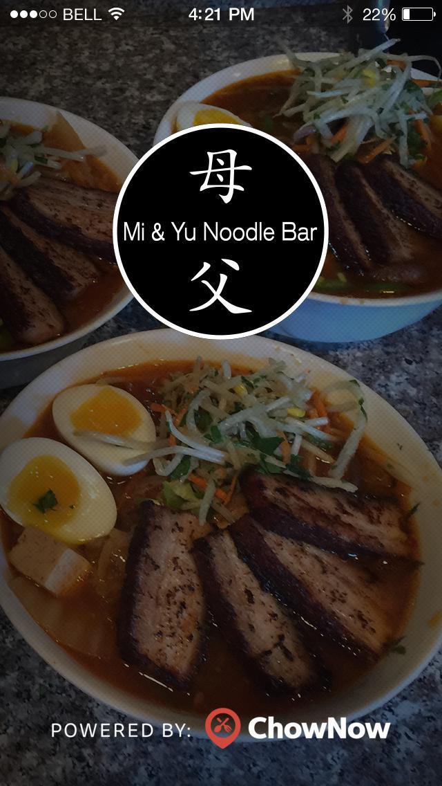 Mi & Yu Noodle Bar screenshot 1