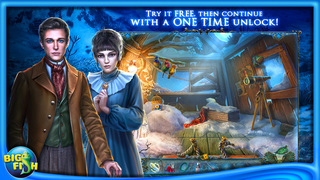 Redemption Cemetery: Bitter Frost - A Hidden Object Puzzle Adventure screenshot 1