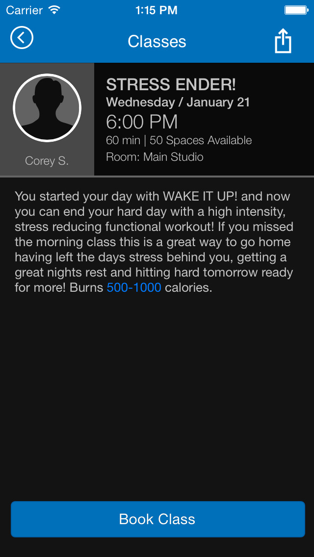 Rock Fitness screenshot #4