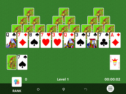 ▻TriPeaks Solitaire screenshot 3