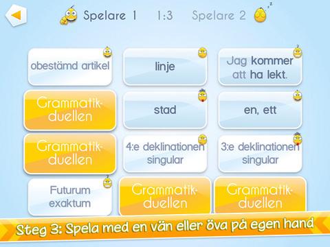 Grammatikduellen screenshot 9
