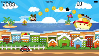 Princess Jump : Fashion Girl Have Fun On The Beach screenshot 4