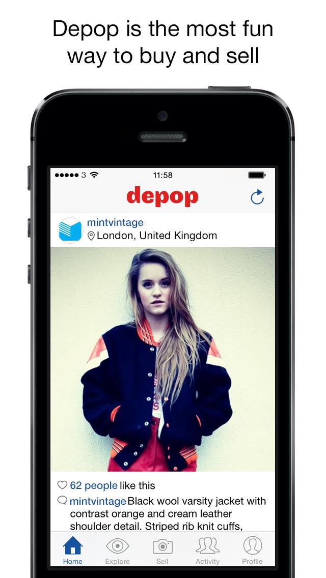 Depop - Streetwear & Vintage screenshot 1